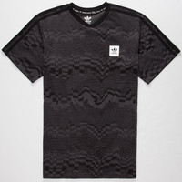 Adidas Soccer Mens T-Shirt Black  In Sizes