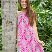 Touch Of Whimsy Dress - Pink