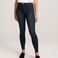 Womens High Rise Jean Leggings | Womens Bottoms | Abercrombie.com