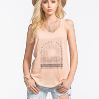 O'neill Suvana Womens Tank Peach  In Sizes