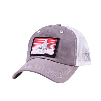 Truck Stop Mesh Back Hat in Pewter by Johnnie-O