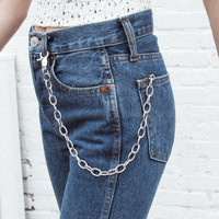 Silver Wallet Chain - Just In