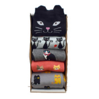 Cat Sock Variety Pack