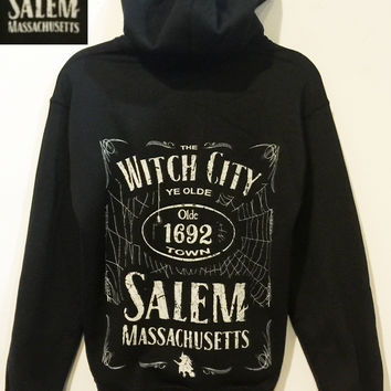 Witch City Hooded Sweatshirt