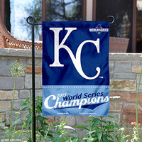 KC Royals World Series Champs Garden Flag