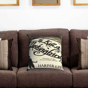To Kill a Mockingbird Pillow Cover , Custom Zippered Pillow Case One Side Two Sides