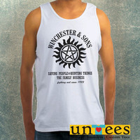 Winchesters and Sons Clothing Tank Top For Mens