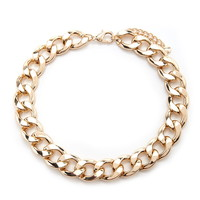 Chain Statement Necklace