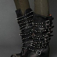 Jeffrey Campbell  Kravitz Stud Boot at Free People Clothing Boutique