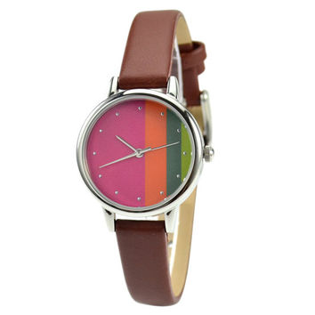 Ladies Colorful Graphic Watch - Free shipping