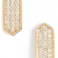 Women's Dana Rebecca Designs 'Cynthia Rose' Diamond Pave Stud Earrings