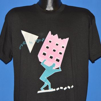 80s Design In Motion Neon Pastel t-shirt Extra Large