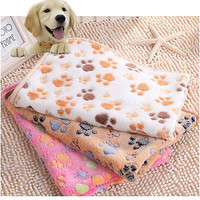 Soft Coral Fleece Dog Cushion Quilt Towel Blanket Dog Cat Mat Pet Products 3C