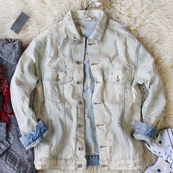 Laid-back Denim Jacket