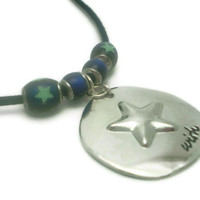 Wish Star Mirrored Mood Necklace