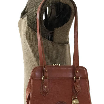 Dooney and Bourke, Vintage Dooney Purse, Dooney Shoulder Bag, Dooney Satchel