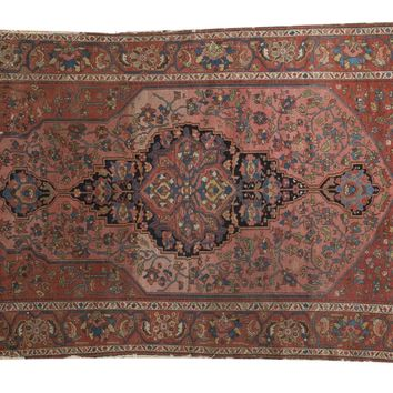 4.5x7 Antique Mission Malayer Rug