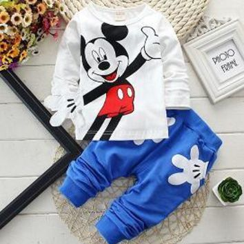 Donald Duck and Mickey Mouse 2 pc Suit For Kids