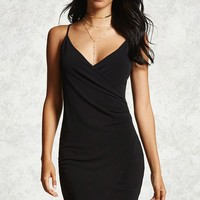 Surplice Cami Dress