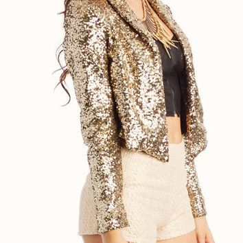 sequined-flyaway-blazer BLACK GOLD - GoJane.com