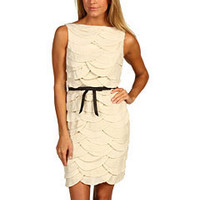 Robert Rodriguez Scallop Dress Bone - Zappos.com Free Shipping BOTH Ways