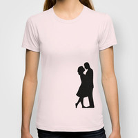 Loving Couple T-shirt by Nicklas Gustafsson | Society6