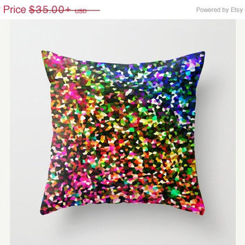 SALE Pillow Cover, Throw Pillow, Sublime Color Pillow, Bright Pillow, Colorful Home Decor, Colorful Bedroom, Handmade Pillow, Colorful Pillo