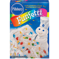 Walmart: Pillsbury Funfetti Cake Mix, 18.9 oz