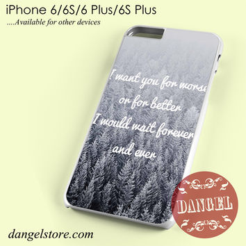 Taylor Swift I want You Phone case for iPhone 6/6s/6 Plus/6S plus