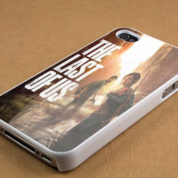 Ellie and Joel-the last of us case for iPhone 4/4s, iPhone 5/5S/5C, Samsung S3 i9300, Samsung S4 i9500