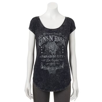 Rock & Republic Guns N' Roses Graphic Tee - Women's, Size: