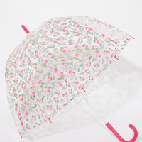 Cath Kidston | Cath Kidston Birdcage Umbrella In Cherry Print at ASOS