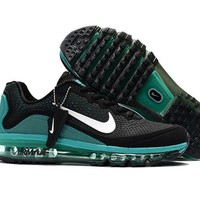 Air Max 2017 Men Shoes Dark Green