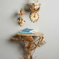 Sunward Shelf by Anthropologie in Gold Size: