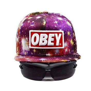 ONETOW Perfect Obey Giant Women Men Sports Sun Hat Hip Hop Embroidery Baseball Cap Hat