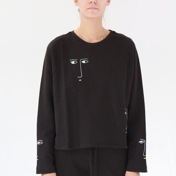 Kowtow Figurine Sweater Black