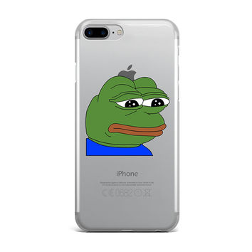 PEPE THE FROG MEME CUSTOM IPHONE CASE