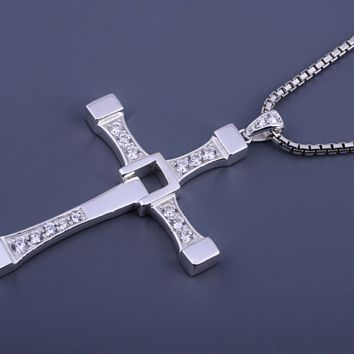 The Fast And The Furious - Vin Diesel Rhinestone Cross Pendants