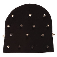 Ark Black All Over Spike Beanie