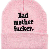The Bad MotherEffer Beanie