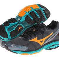 Mizuno Wave® Rider™ 17 Dark Slate/Bright Marigold/Columbia - Zappos.com Free Shipping BOTH Ways