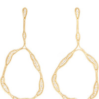 Fernando Jorge - Fluid Trapeze 18-karat gold diamond earrings