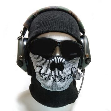 Vogue Gallery Skull Face Mask Balaclava One Size Fits Most