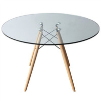 Splayed Glass Dinning Table