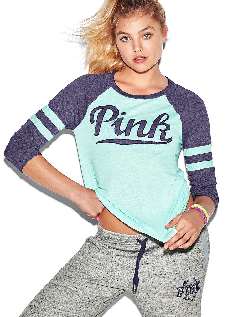 Baseball Tee Pink Victoria 39 S Secret From Vs Pink Quick