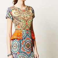 Sunchart Peplum Dress