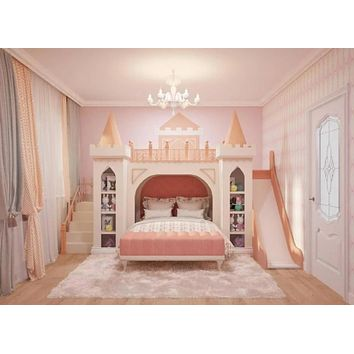 Unique & Luxury Princess Castle Modern Bed Furniture