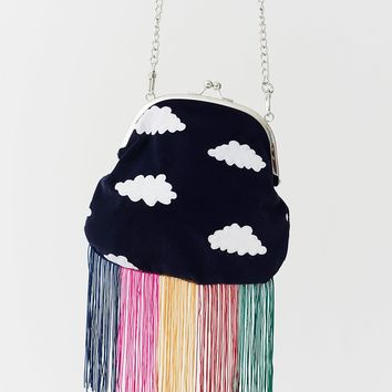 Lazy Oaf Rainbow Fringe Cloud Bag