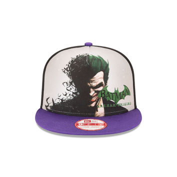 New Era Batman Arkham Origins Joker Snapback Hat