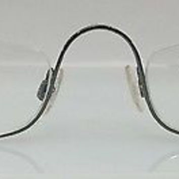 NEW AUTHENTIC GIORGIO ARMANI GA 121 COL HA3 OLIVE METAL SEMI EYEGLASSES FRAME 48